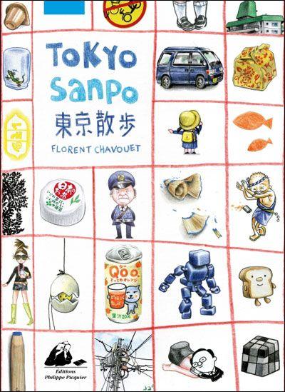 Tokyo Sanpo Florent Chavouet Sur Fnac Com Tokyo Livre Japon
