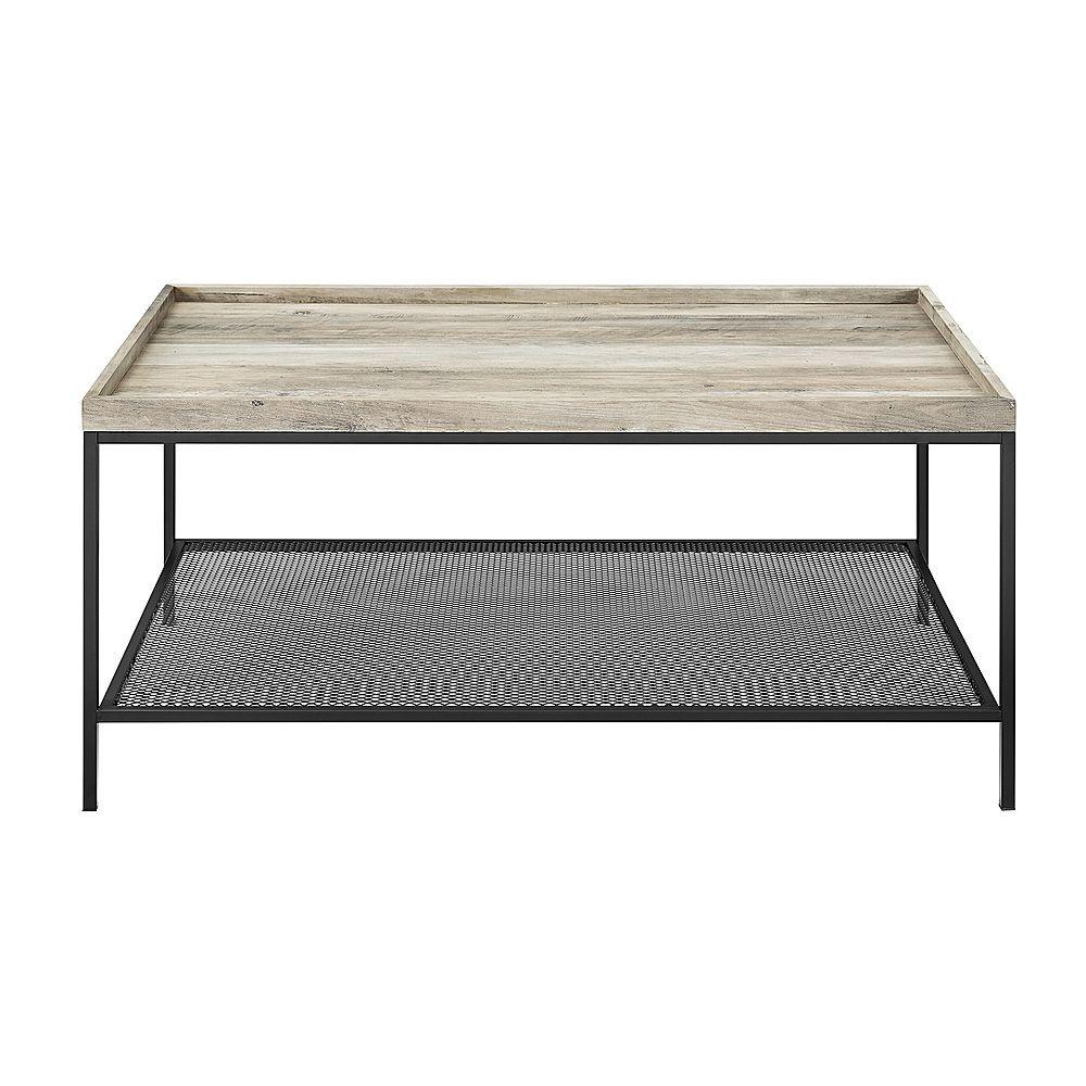 Walker Edison Rectangular High Grade Mdf Coffee Table Modern