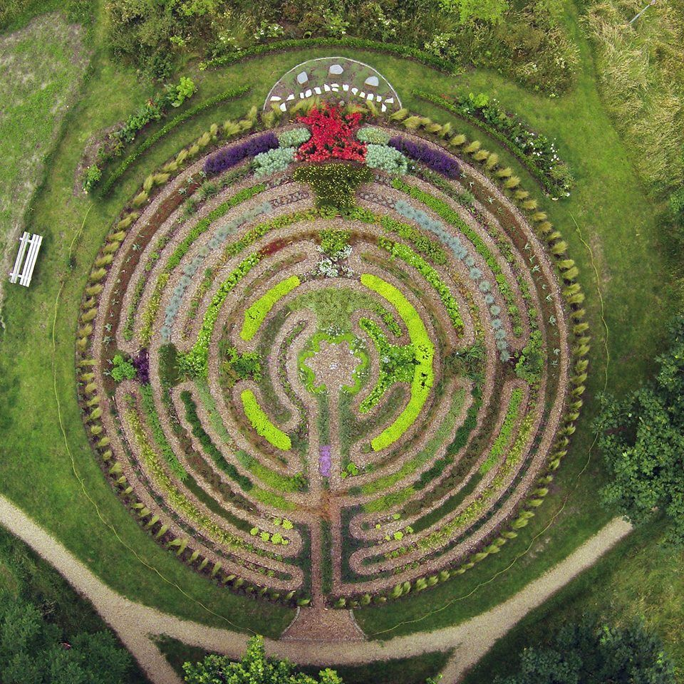 Labyrinth Arnhem Netherlands Pinterest Gardens Circuit Classical From A 5circuit Chartres