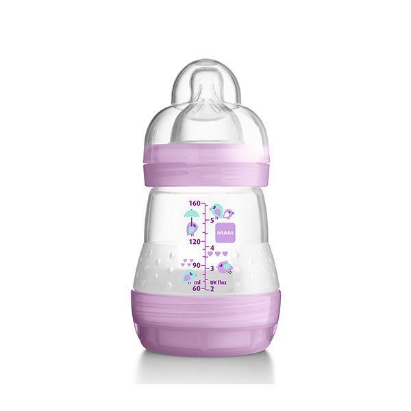 Mamadera anticólicos modelo niña. 160 ml  http://www.babytuto.com/productos/lactancia-mamaderas-mamaderas-de-plastico,mamadera-anticolicos-modelo-nina-160-ml,15648