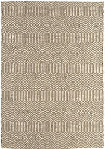 Teppich Wohnzimmer Carpet modernes Design SLOAN STREIFEN RUG 55 - teppich wohnzimmer beige