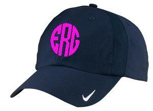 tinytulip.com - Monogrammed Nike Dri Fit Baseball Hat  b493f905a80