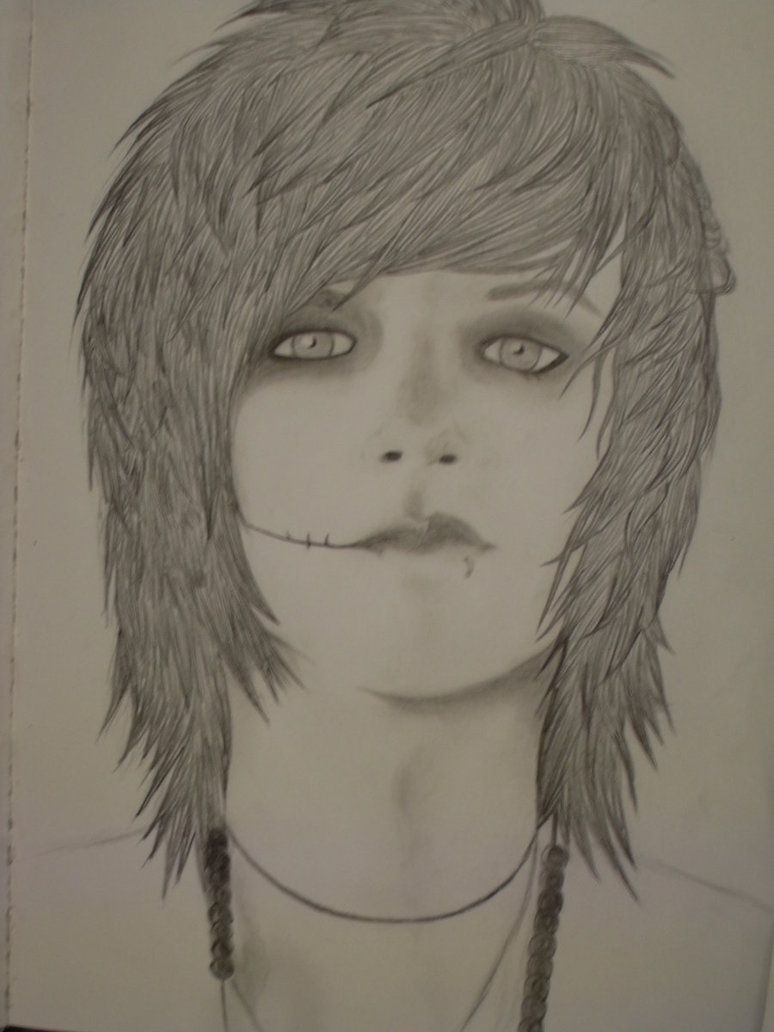 Pin By Pewdie Cry On Art Black Veil Brides Guy Drawing Album Art