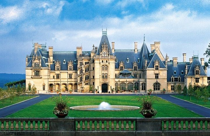 The Biltmore Estate Largest Privately Owned House In United States