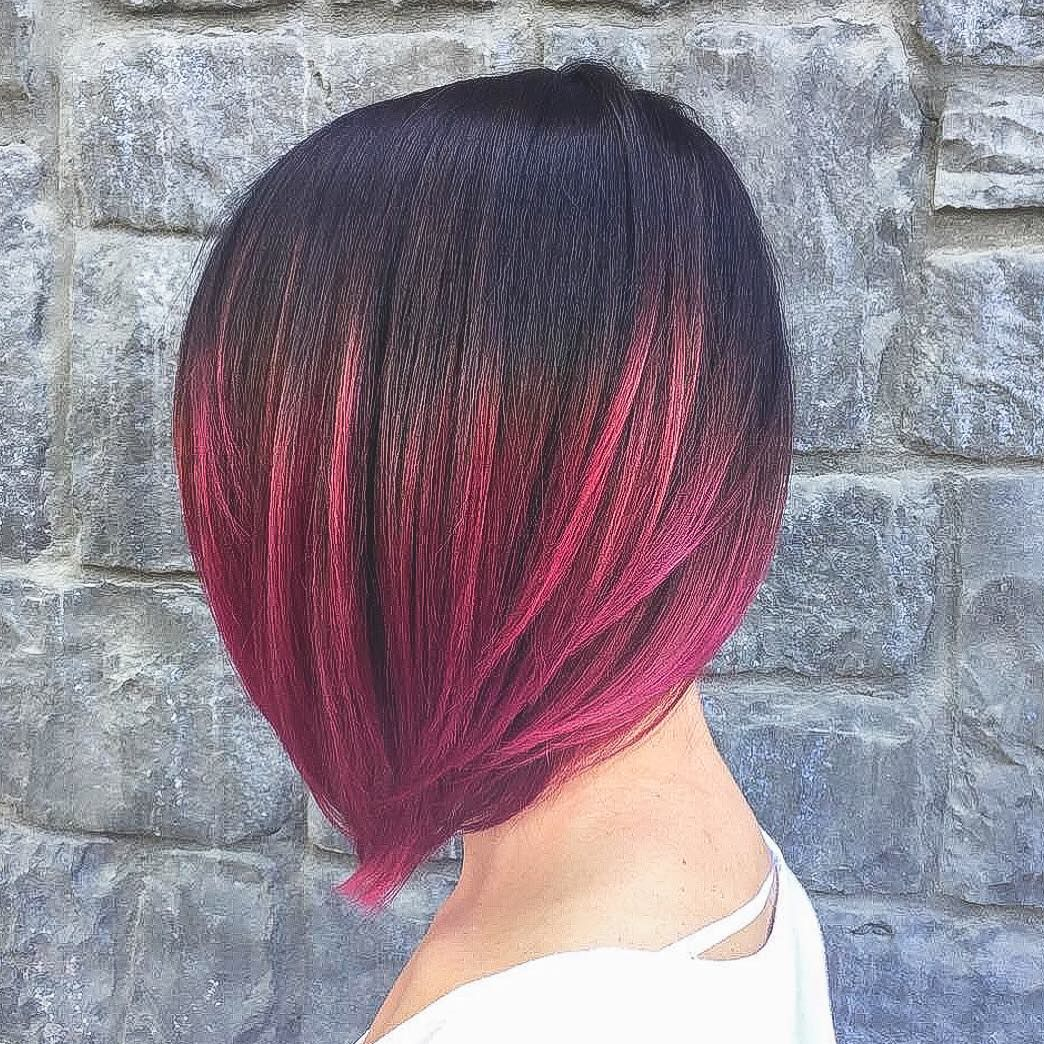 short ombre hairstyles to spice up a short do hair pinterest