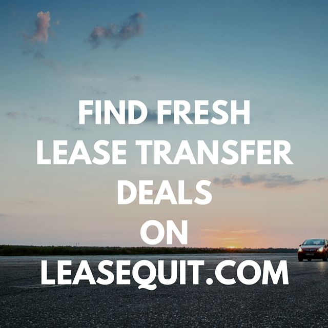 Find Fresh Lease Transfer Deals On Leasequit Com For Totally Free