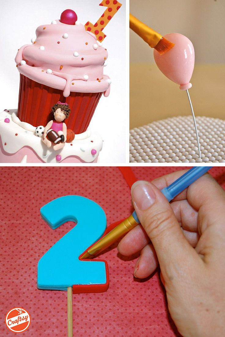 Free guide! Event-throwers and party-goers are soon to be smitten by your adorable fondant cake toppers. Enjoy 33 pages of in-depth tutorials written by cake shop owner Lesley Wright.