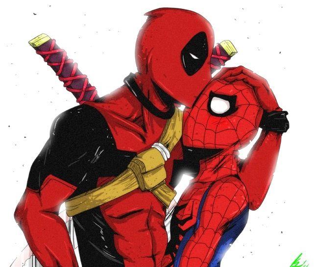 Deadpool And Spider Man 1: Deadpool, Spiderman, Spideypool
