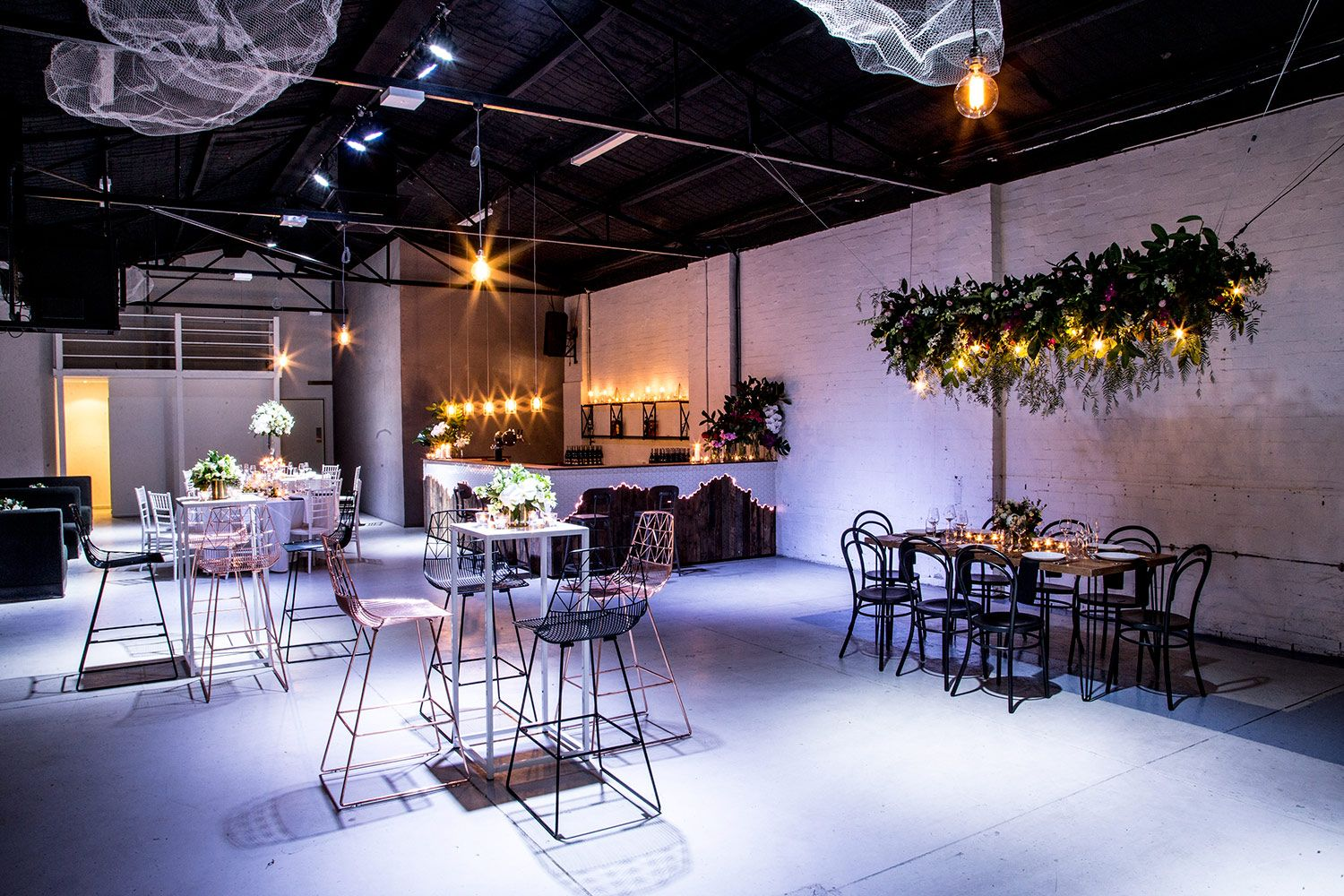 Warehouse Wedding Venue Melbourne Industrial Wedding