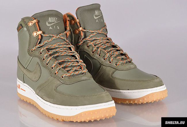 Mens Air Force 1 High Deconstructed Military Boot