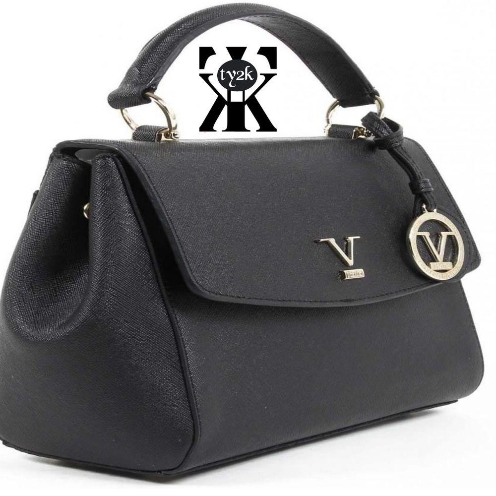 V 1969 Italia Womens Handbag VE09 BLACK Tote bag  VersaceV1969  DoctorTote f83b1381dc738