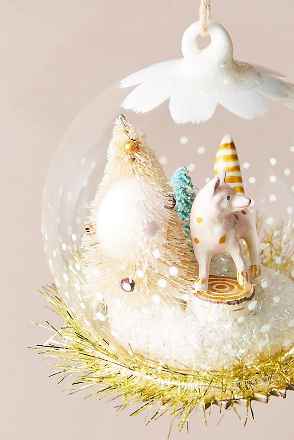 Snowglobe Habitat Ornament | Christmas 2017: Crafts, ornaments, and ...