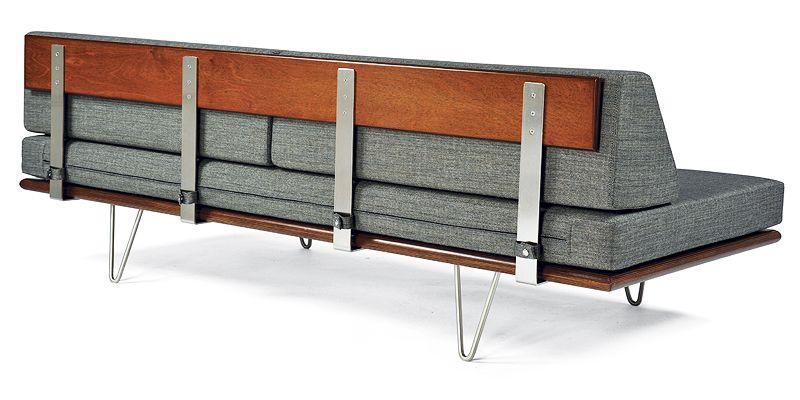 Modernica Case Study Daybed Corner Chair           Herman Miller