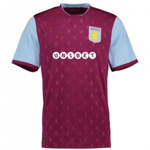 new arrival 053d9 b3ec5 Aston Villa FC 2017-18 Season Home AVFC Shirt [K642]   cheap ...