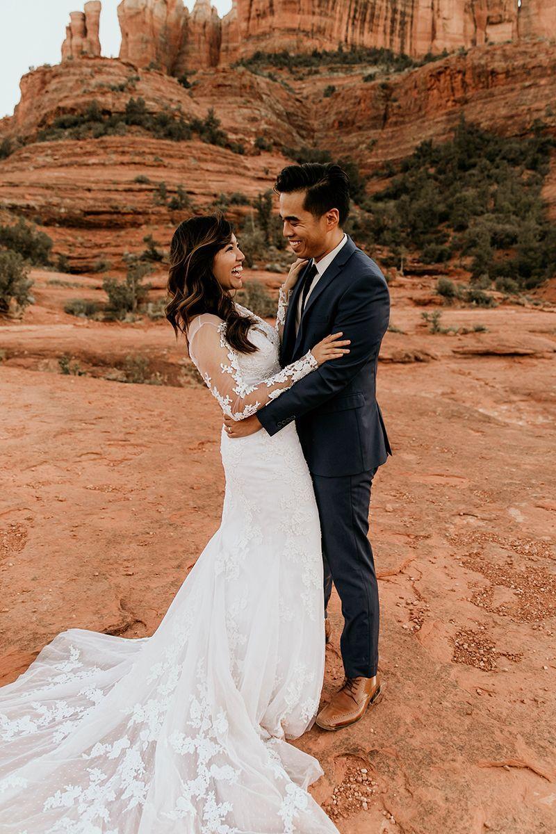 Desert bridal photo session in sedona arizona style 2270