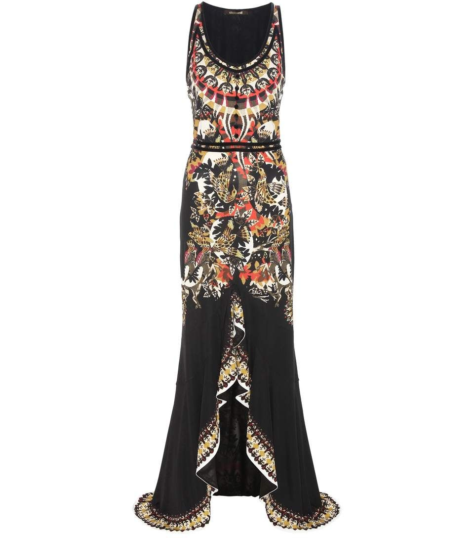 7ba22c927b85 mytheresa.com - Abito lungo a stampa - Luxury Fashion for Women   Designer  clothing
