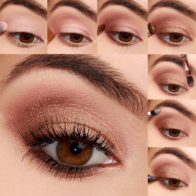 Lulus How To Midsummer Bronze Eyeshadow Tutorial Summer Eye