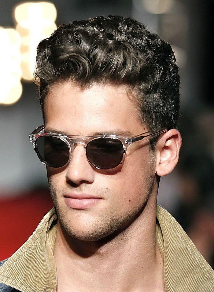 Cool Mens Curly Hairstyles Anthony Pinterest Cabello Pelo - Cortes-de-pelo-rizado-chico
