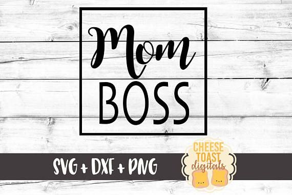 Mom Boss Svg Big Boss Svg Lady Boss Svg Boss Lady Svg