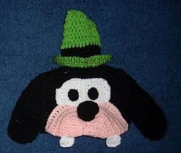 Free Crochet Character Hat Patterns | Custom Boutique Crocheted Disney Goofy Dog Hat Beanie | eBay