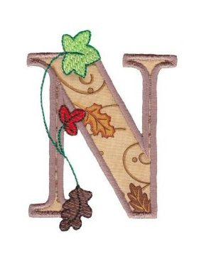 Buchstabe / Letter N