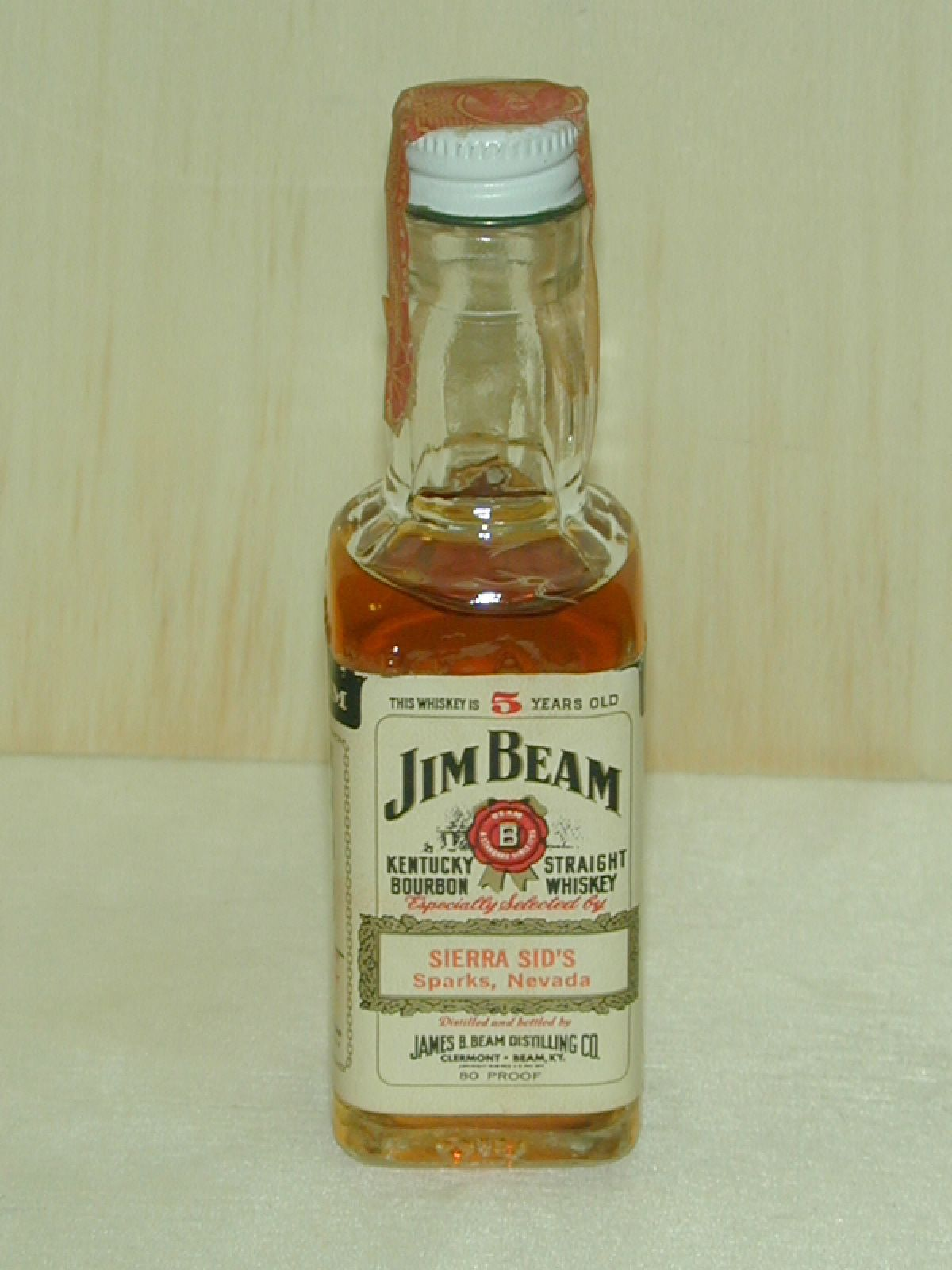 Jim Beam Small Liquor Bottles Jim Beam Scotch Whiskey