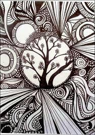 Bildergebnis Für Zentangle Tiere Zendala Sharpie Art