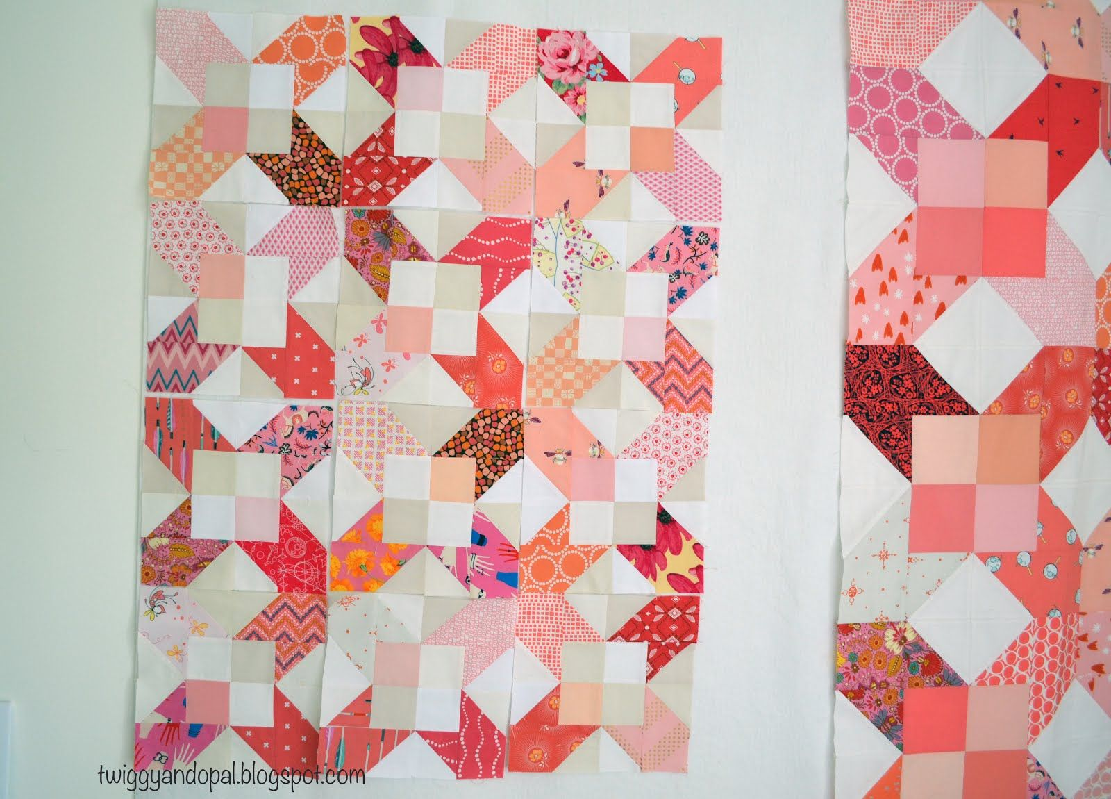 I swear I must have a condition! It isn't enough that I make a quilt filled with glorious fabric and color. It should end there. Make the...