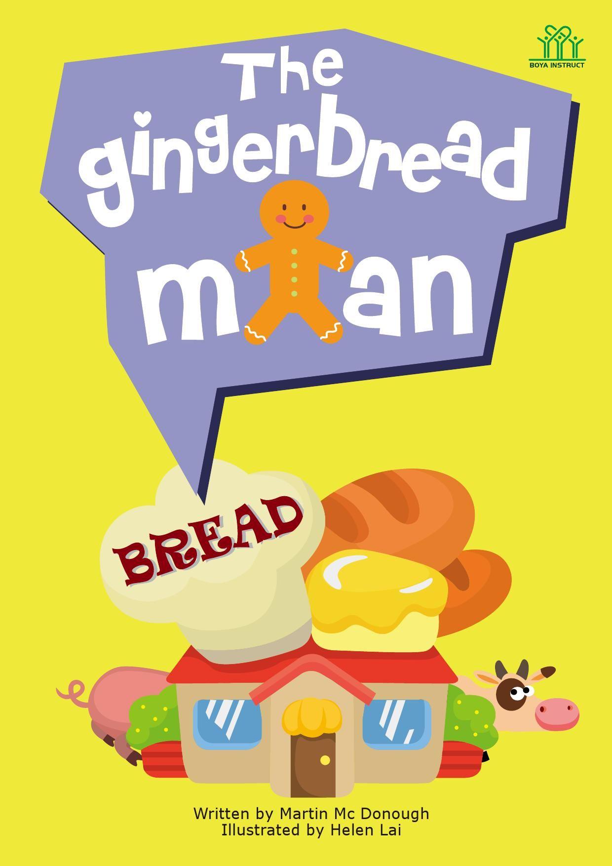 Gingerbread Man Fairy Tale Activities Kindergarten Creative Worksheets Early Learning [ 1754 x 1240 Pixel ]