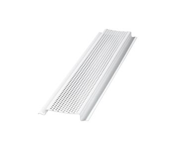 Air Vent Perforated Continuous Soffit Vent Carton Of 50 8ft Pieces From Buymbs Com Home Remodeling 8ft Air Vent