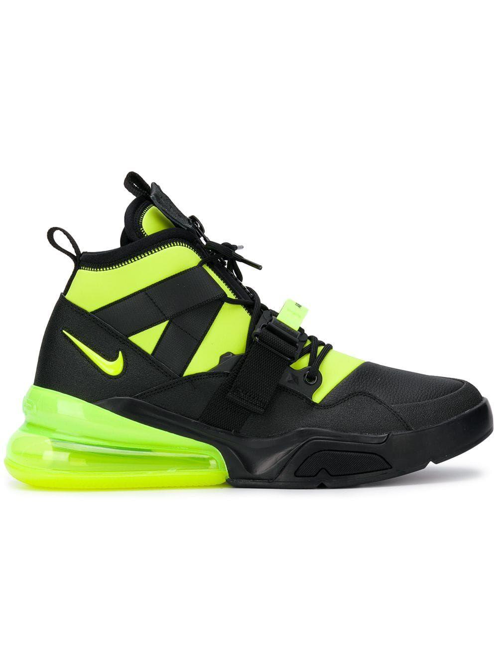 Nike Air Force 270 Utility sneakers Black | Nike air, Nike