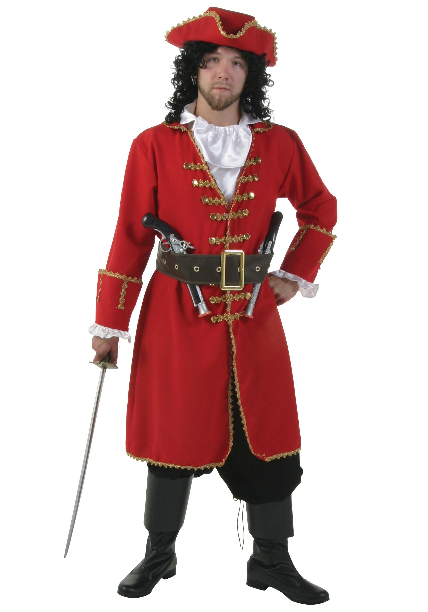 Adult Plus Size Blackheart Pirate Costume