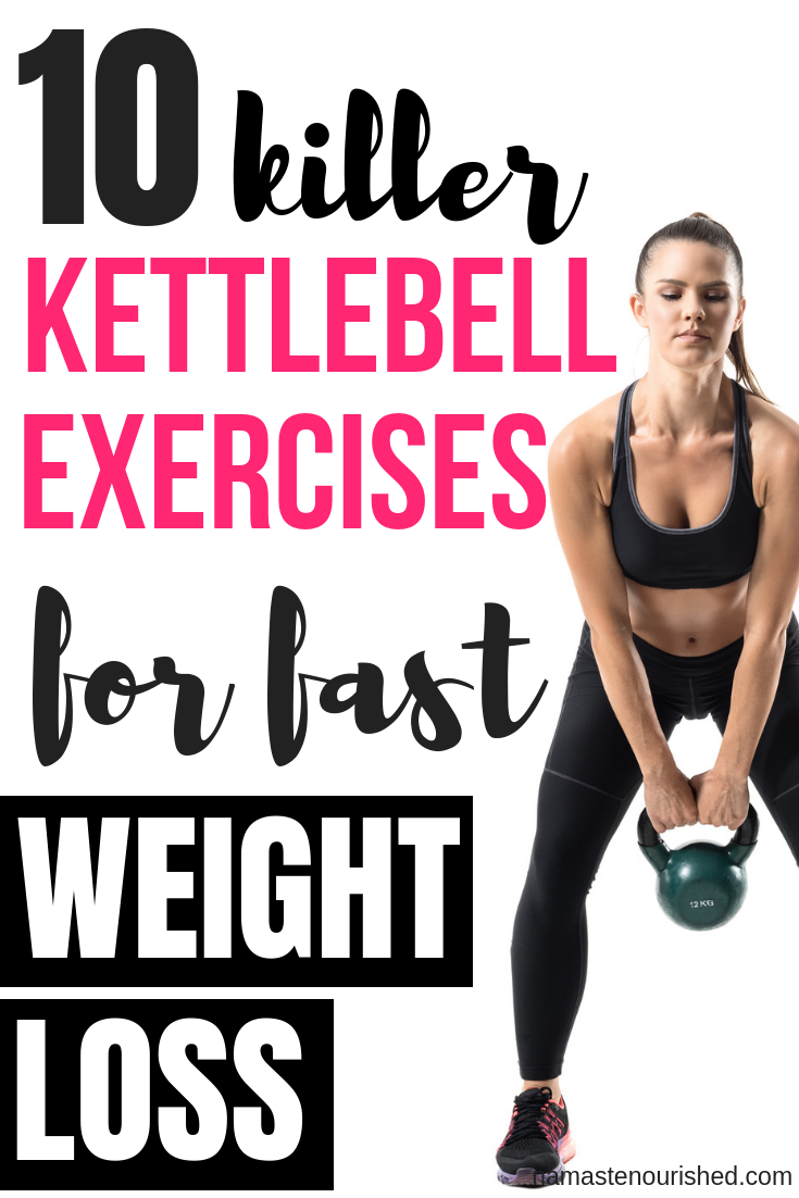 Lose weight fast kettlebell training