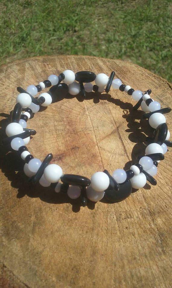 Hey, I found this really awesome Etsy listing at https://www.etsy.com/listing/532480045/boho-hippy-bracelet-plastic-beads-8-inch