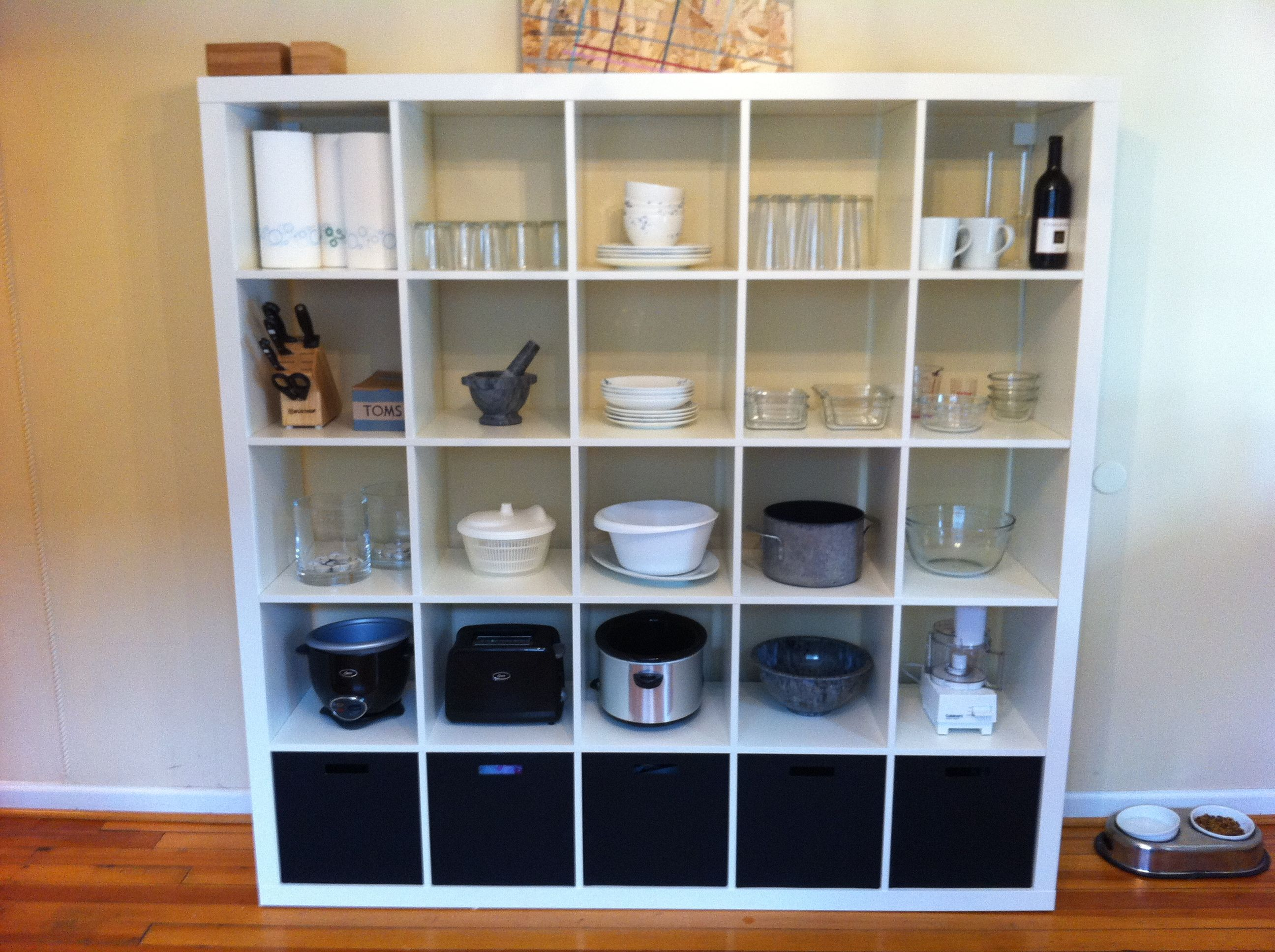 expedit kitchen storage living. Black Bedroom Furniture Sets. Home Design Ideas
