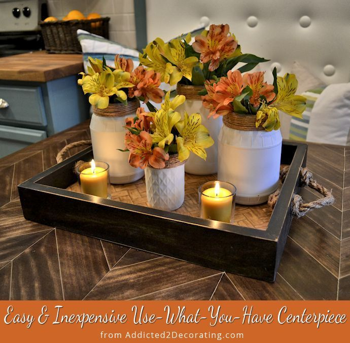 17 Best Ideas About Kitchen Island Table On Pinterest: Kitchen Table Centerpieces