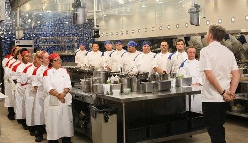 Astounding Hells Kitchen Recap 4 3 14 Season 12 Episode 4 17 Chefs Home Interior And Landscaping Ologienasavecom