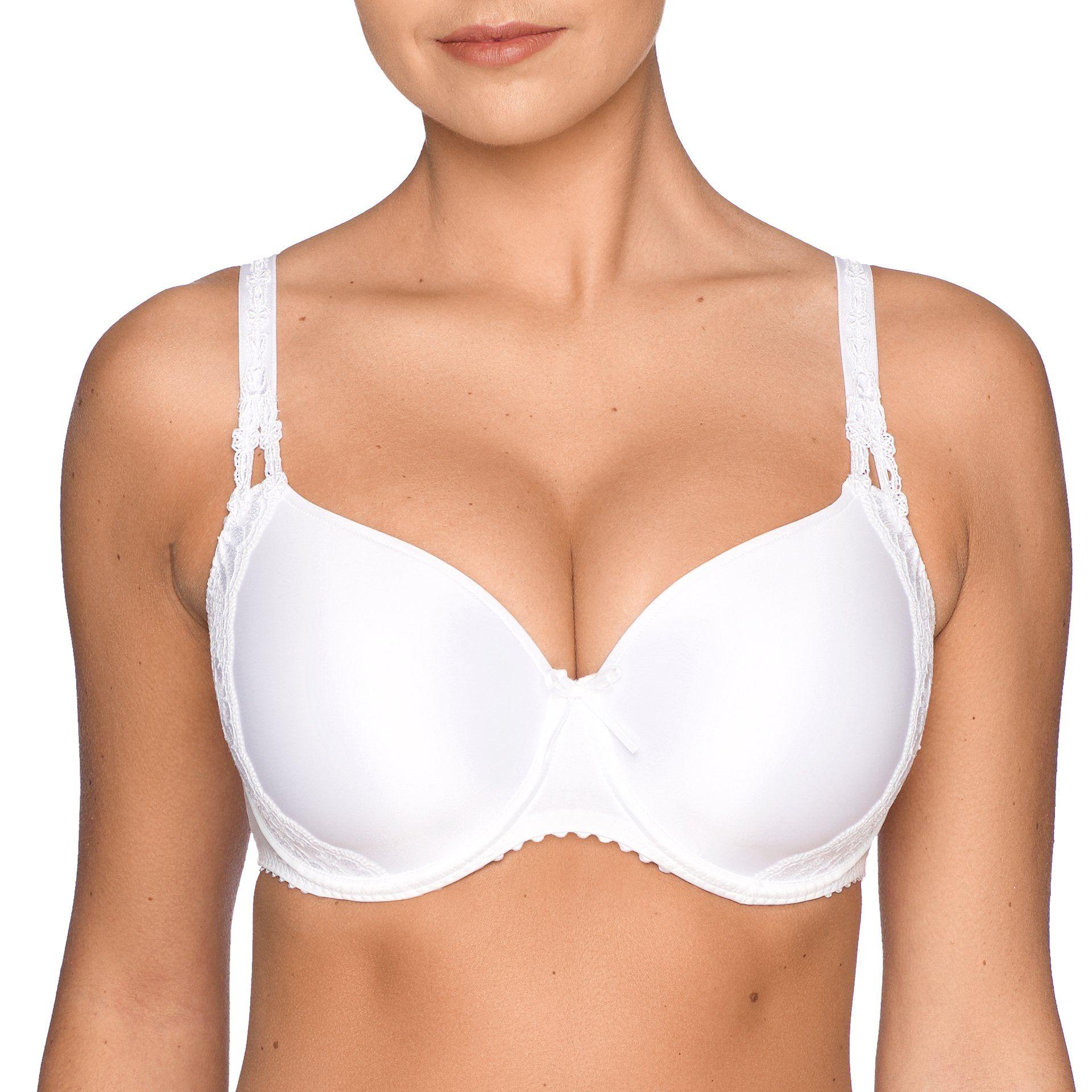PrimaDonna DELIGHT padded bra white. Buy lingerie online. | 2017 ...