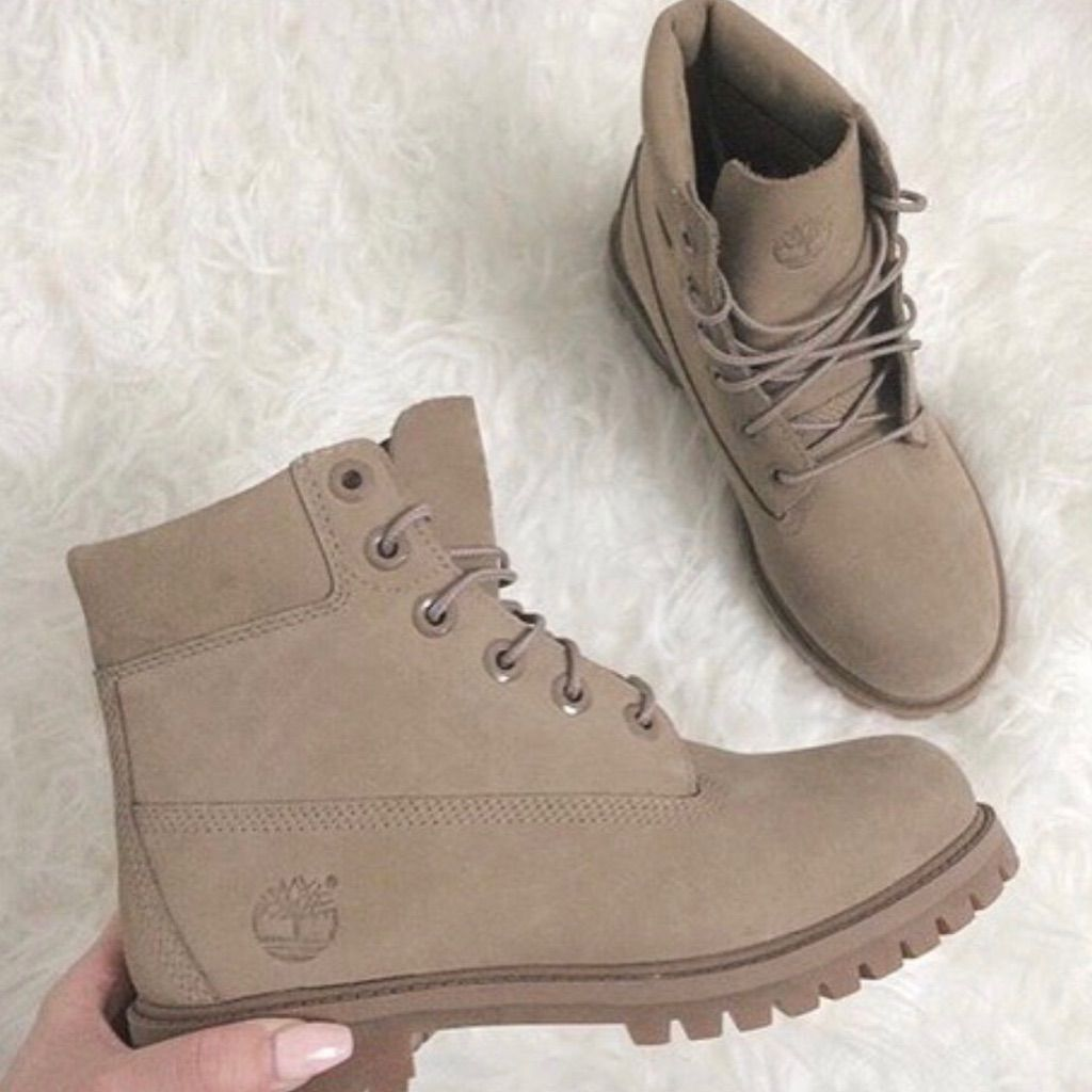 Timberland Shoes | Nwot Beige Timberlands Rare | Color: Tan