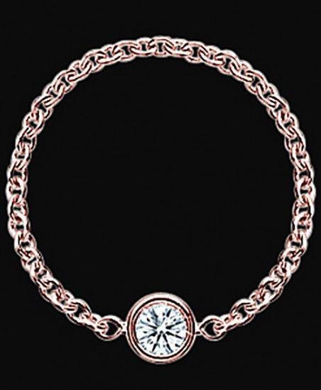 Diamonds Yard Bracelet By Chain Style Yard Pink Gold Rose Gold