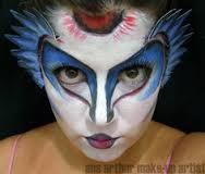 cirque du soleil makeup - mystère