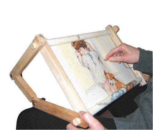 Fa Edmunds Flexible 9 Inches X 18 Inches Needlework Embroidery Adjustable Lap Or Table Stand FA Edmunds http://www.amazon.com/dp/B00263VLDE/ref=cm_sw_r_pi_dp_6HLGub1WJ12ZG