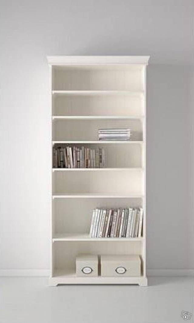 b cherregal landhausstil house in 2019 b cherregal weiss ikea b cherregal wei und liatorp. Black Bedroom Furniture Sets. Home Design Ideas