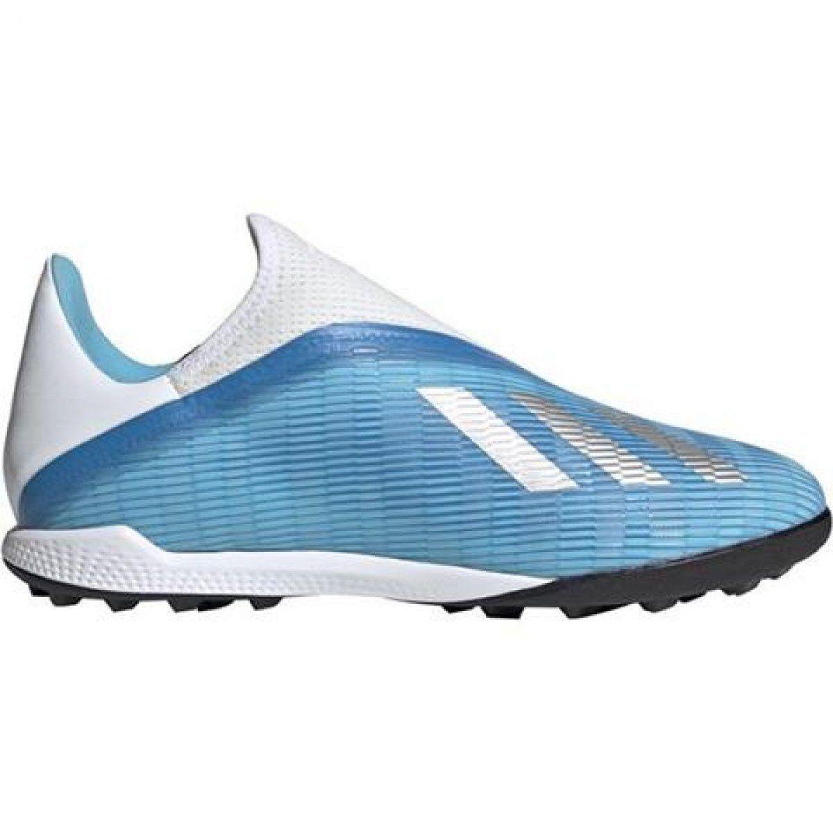 Turfy Football Sport Adidas Adidas X 19 3 Ll Tf M Ef0632 Football Shoes Blue Blue Football Shoes Blue Shoes Shoes