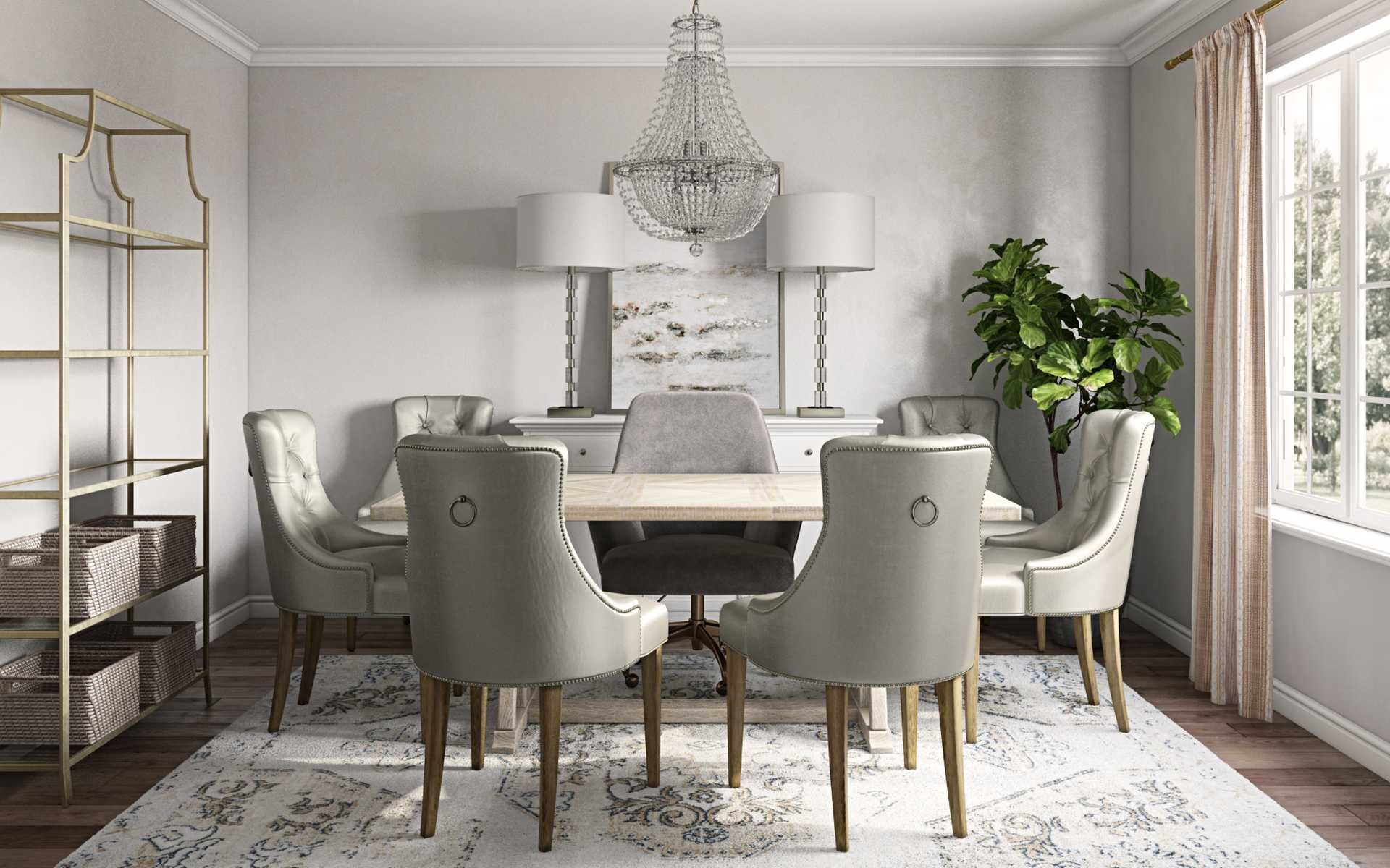 Classic Dining Room Design By Havenly Interior Designer Tracie Dining Room Design Classic Dining Room Classic Room Design
