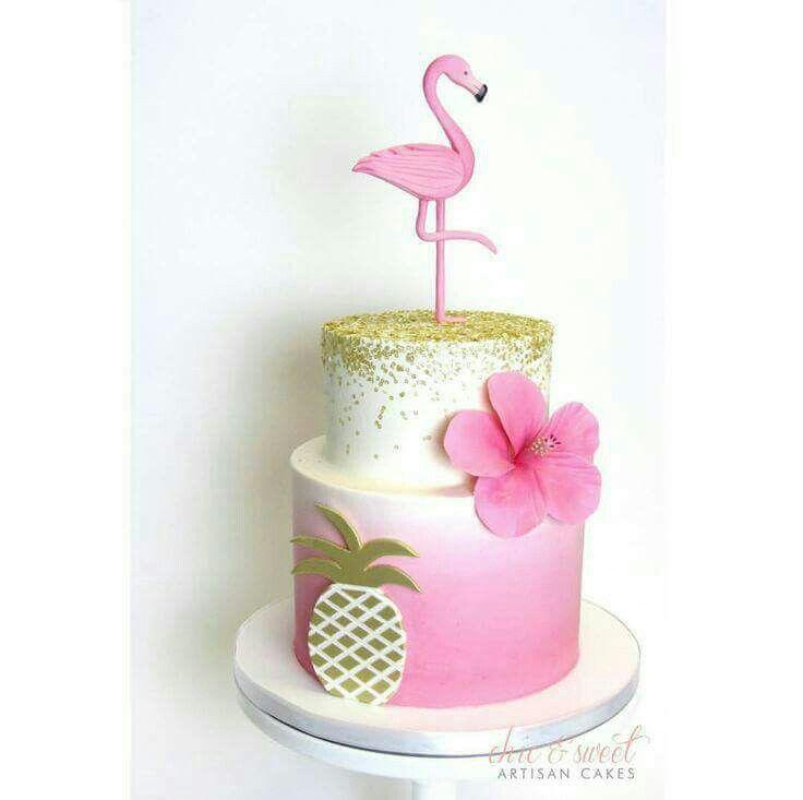 Pin De Carrie Hilbert Em Cakes Bolo De Flamingo Bolo De Festa E