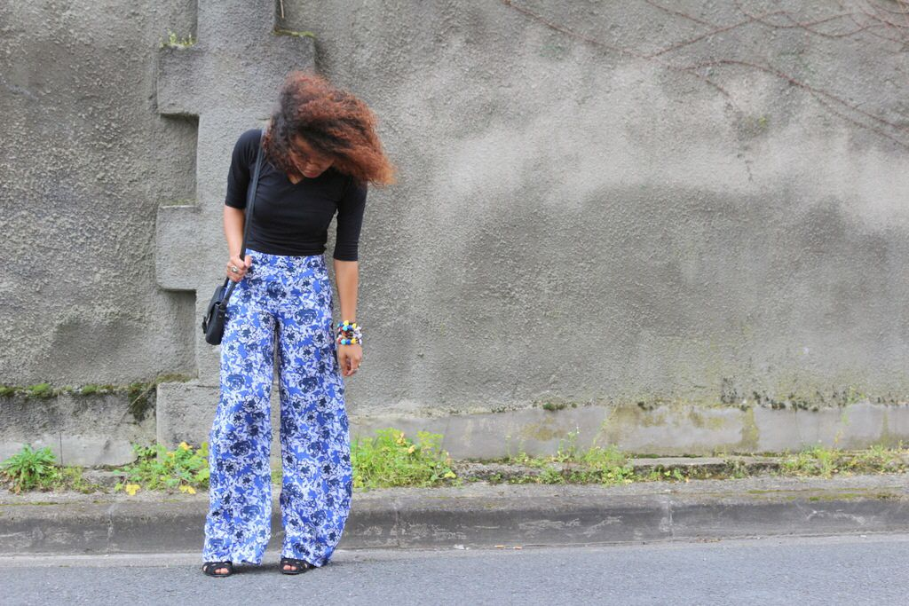 Flared pantalon - flare pants style années 70s! www.pompompidou.com fashion blog bordeaux
