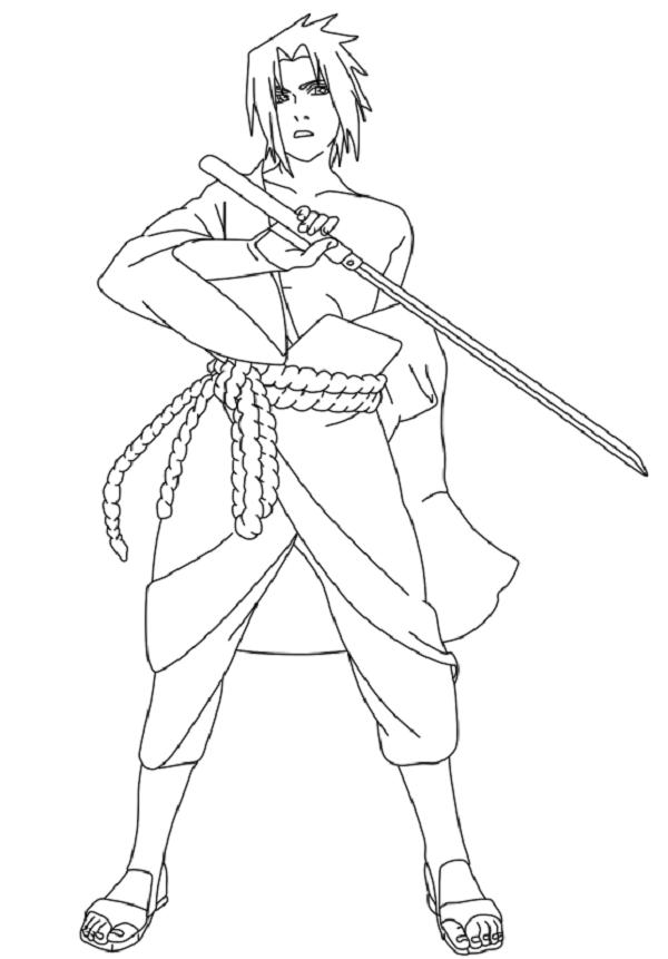 Sasuke Uchiha Coloring Pages Coloring Pages Sasuke Sasuke Uchiha