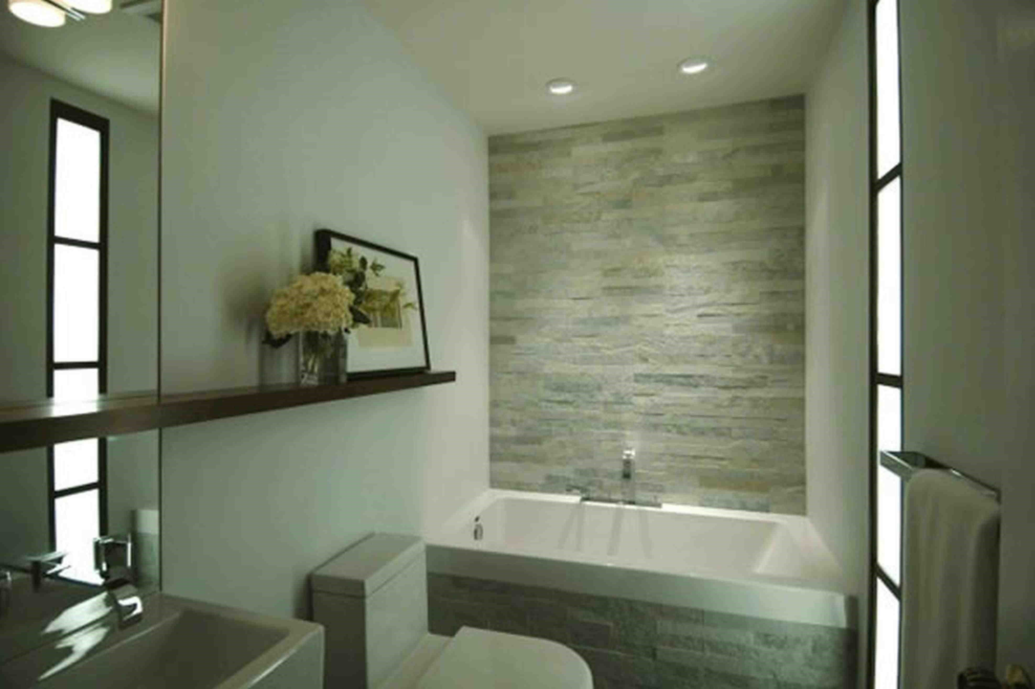 Small Modern Bathroom Design 2015 Rued Club. bathroom shelves ...