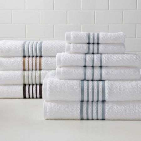 Linden Street Stripe Quick-Dri 6-pc Towel Set $20